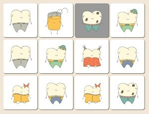 TC dental  memory game
