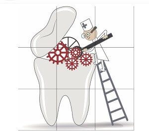 TC dental puzzle game