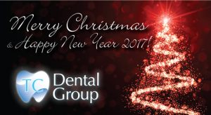 TC Dental Group Christmas greeting and opening hours