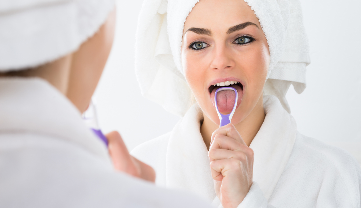 Clean your tongue for better oral & general health!