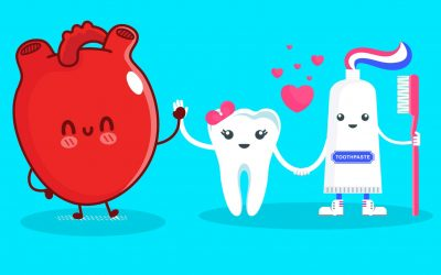 Brush and floss your teeth for a healthier heart